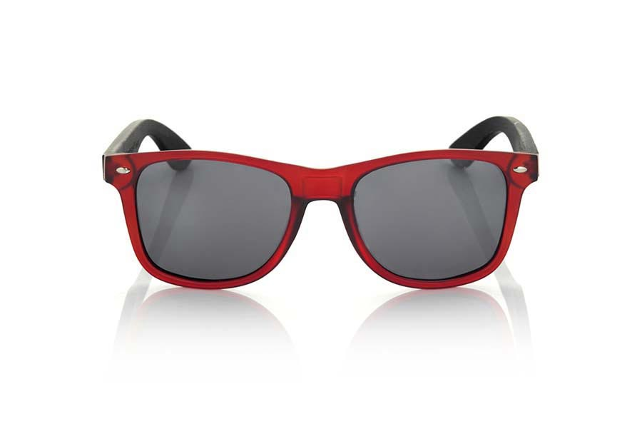 Wood eyewear of Bamboo modelo SUN RED MX | Root Sunglasses®