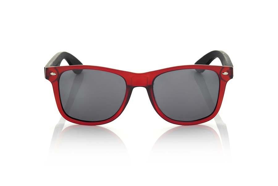 Gafas de Madera Natural de Bambú SUN RED MX | Root Sunglasses ®