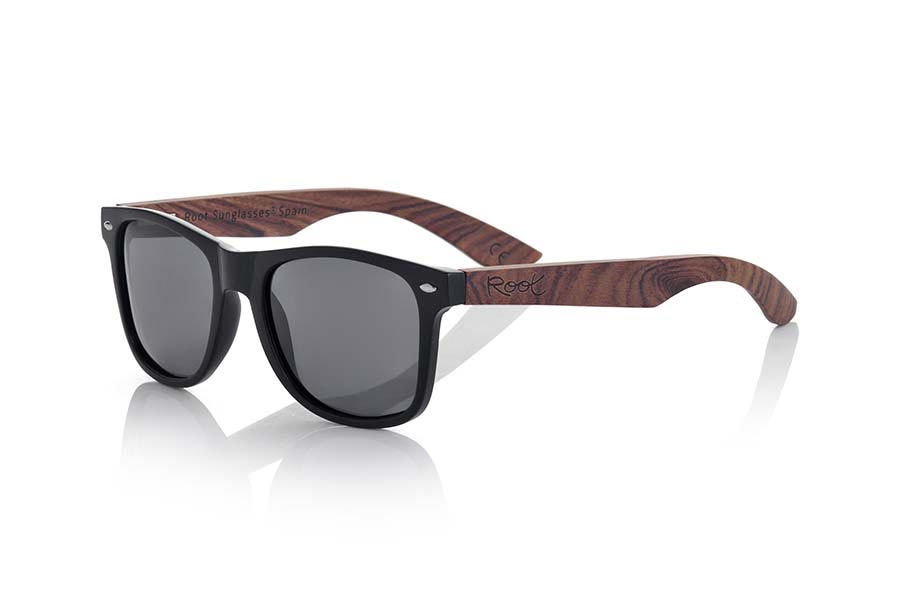 Gafas de Madera Natural de Palisandro SUN MATT MX | Root Sunglasses®