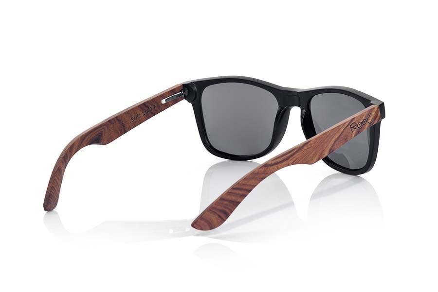 Wood eyewear of Rosewood SUN MATT MX | Root Sunglasses ®