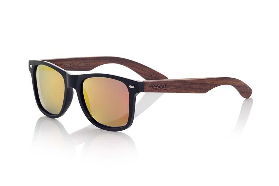 Gafas de Madera Natural de Palisandro SUN MATT MX | Root Sunglasses®