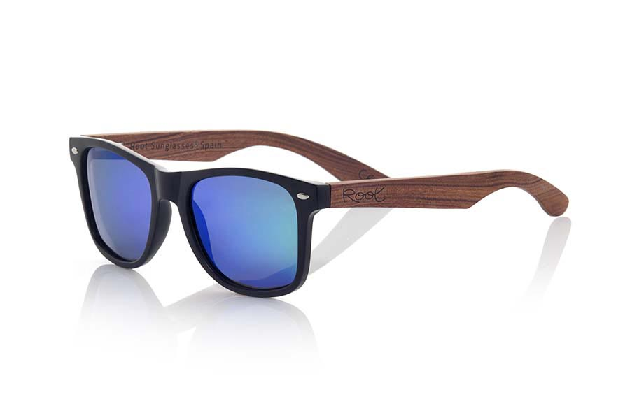 Wood eyewear of Rosewood SUN MATT MX | Root Sunglasses®