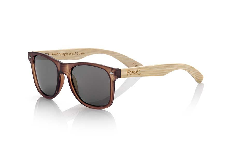 Gafas de Madera Natural de Bambú modelo SUN BROWN MX | Root Sunglasses®