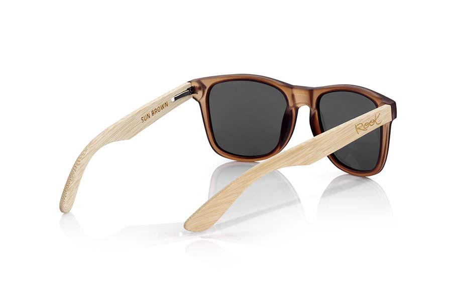 Root Wooden Sunglasses SUN BROWN MX