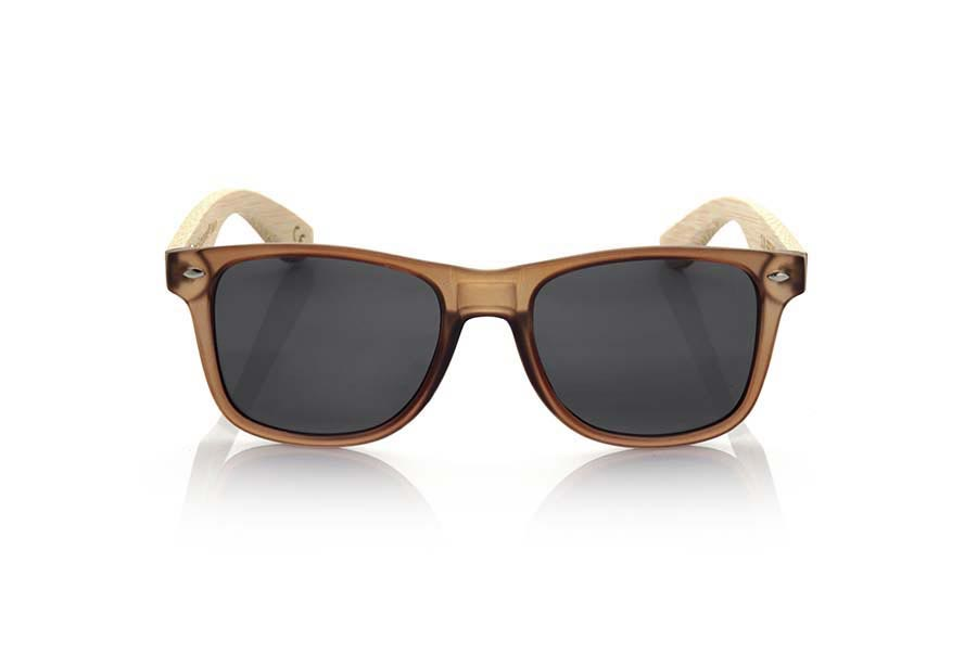 Gafas de Madera Natural de Bambú SUN BROWN MX | Root Sunglasses ®