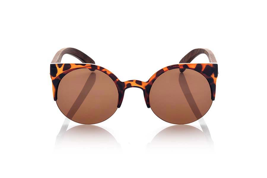 Wood eyewear of Rosewood CAT CAREY | Root Sunglasses ®