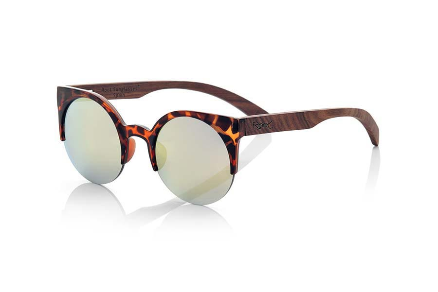 Gafas de Madera Natural de Palisandro modelo CAT CAREY | Root Sunglasses®