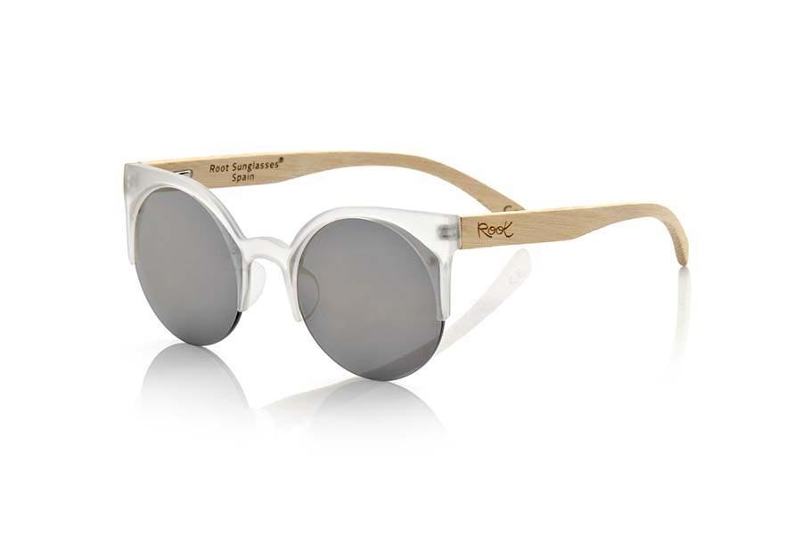 Wood eyewear of Bamboo CAT TR | Root Sunglasses®