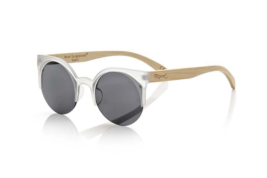 Wood eyewear of Bamboo modelo CAT TR | Root Sunglasses®
