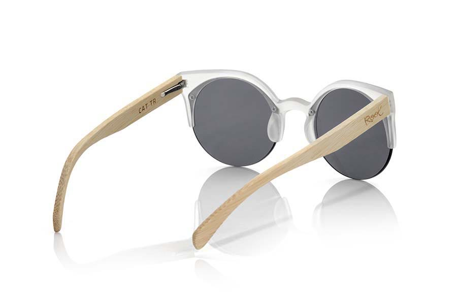 Gafas de Madera Natural de Bambú CAT TR.   |  Root Sunglasses®