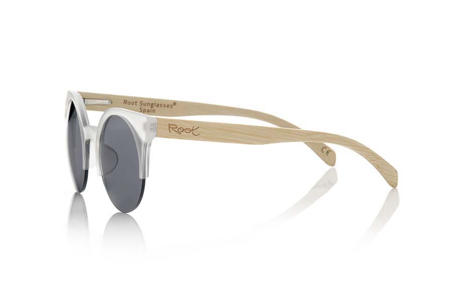 Wood eyewear of Bamboo CAT TR.   |  Root Sunglasses®