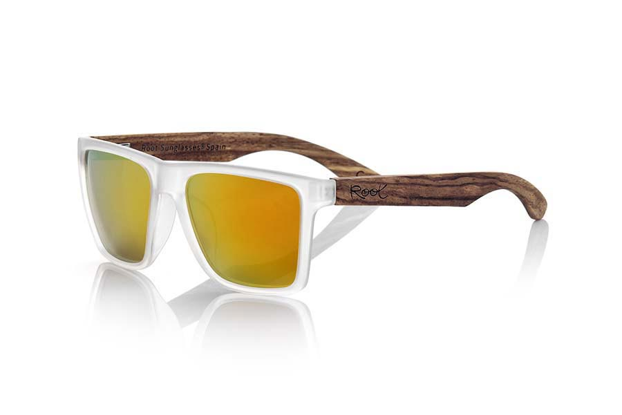 Gafas de Madera Natural de Zebrano modelo RUN TR | Root Sunglasses®