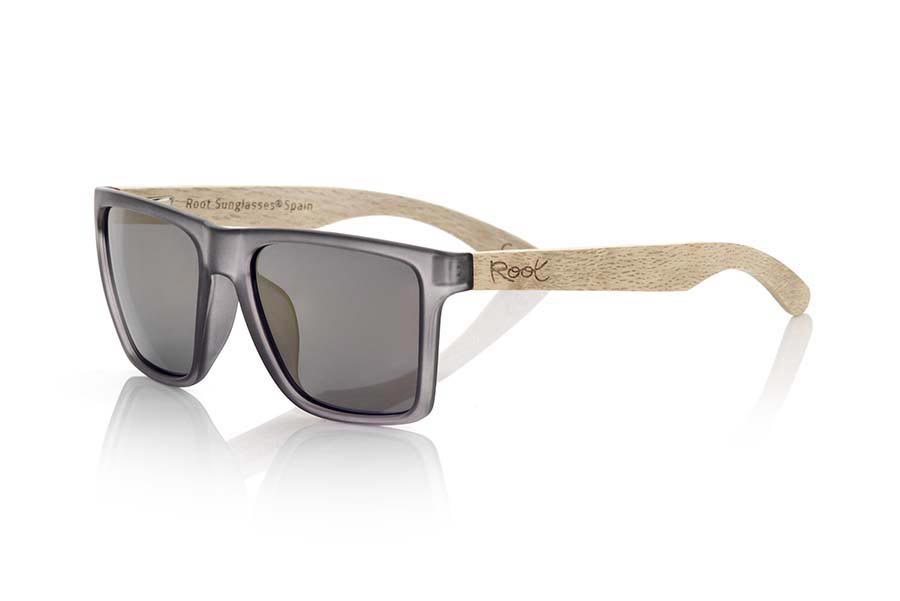 Gafas de Madera Natural de Dumu RUN GREY | Root Sunglasses®