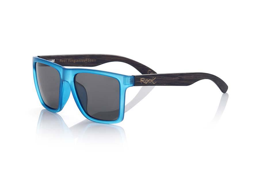 Wood eyewear of  RUN BLUE | Root Sunglasses®