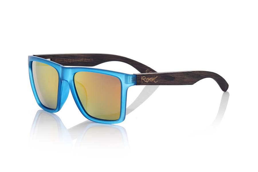 Gafas de Madera Natural de  RUN BLUE | Root Sunglasses®