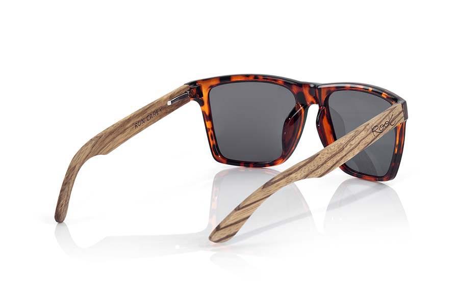 Wood eyewear of Zebra RUN CAREY | Root Sunglasses ®