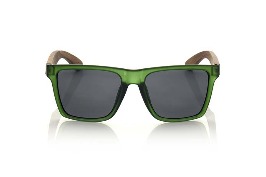 Root Wooden Sunglasses RUN GREEN