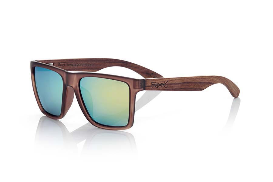 Wood eyewear of Rosewood RUN BROWN | Root Sunglasses ®