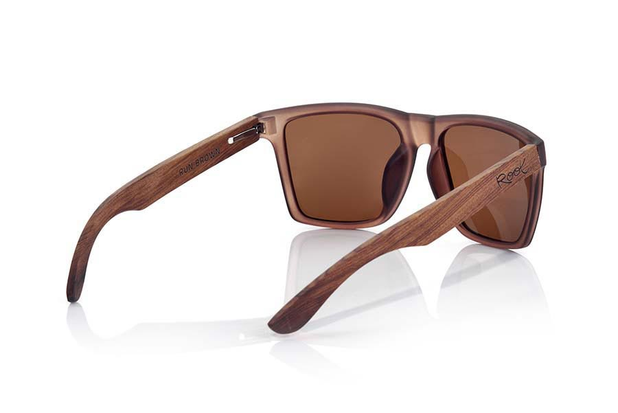 Root Wooden Sunglasses RUN BROWN