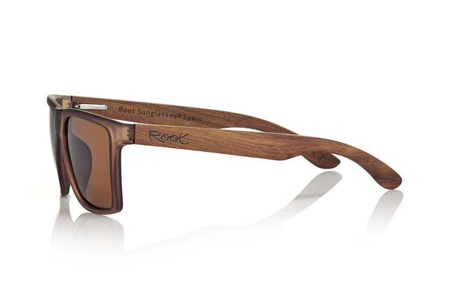 Wood eyewear of Rosewood RUN BROWN | Root Sunglasses®