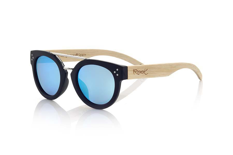 Gafas de Madera Natural de Zebrano ISLAND BLACK | Root Sunglasses®