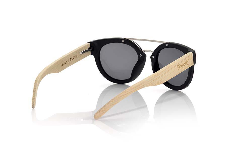 Gafas de Madera Natural de Zebrano ISLAND BLACK | Root Sunglasses ®