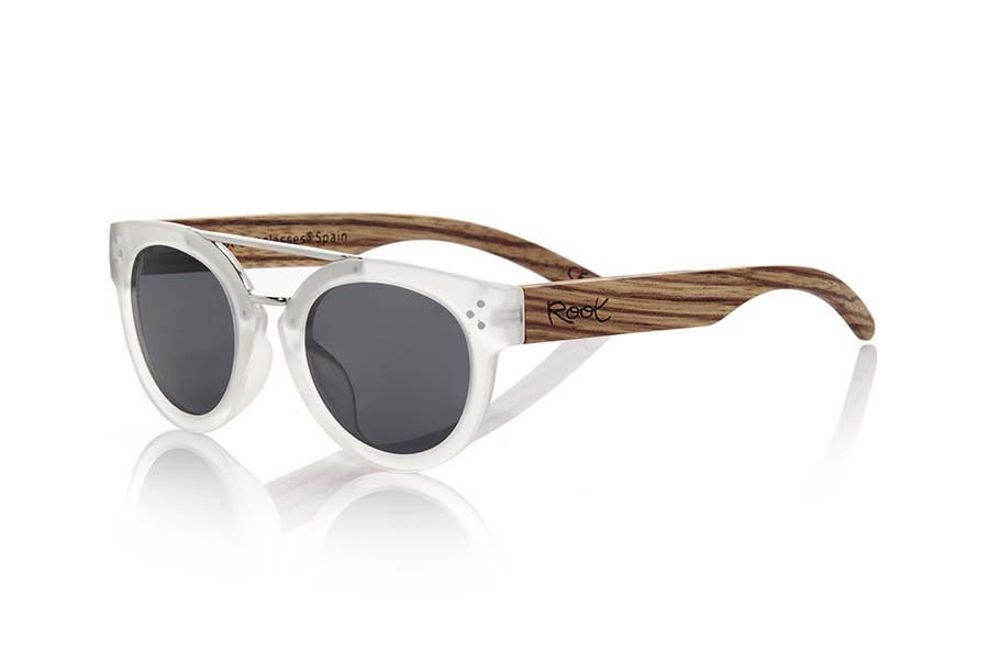 Wood eyewear of Zebra ISLAND TR | Root Sunglasses®