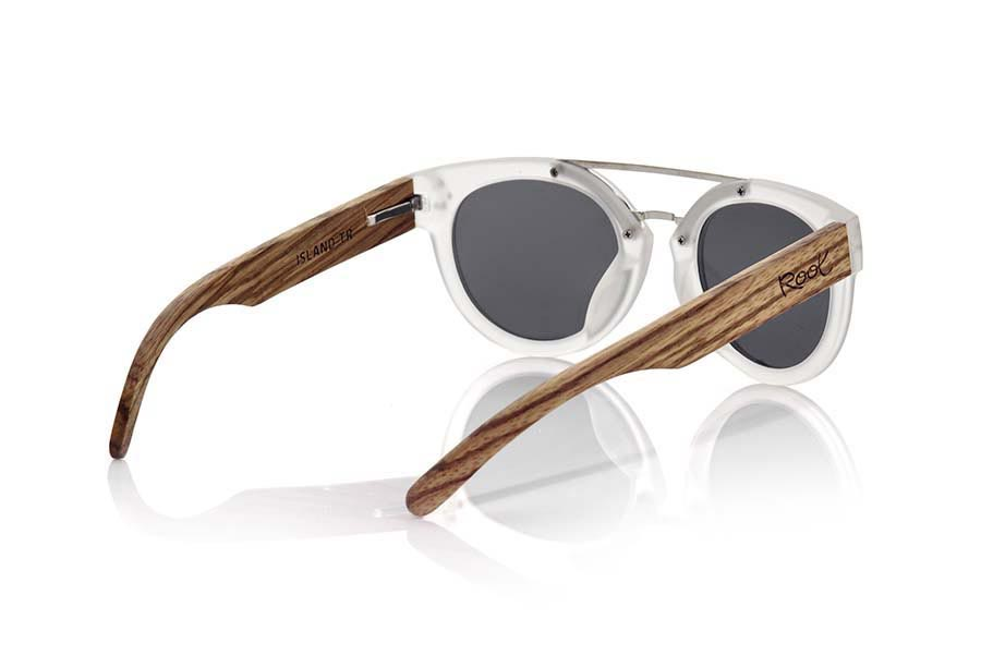 Wood eyewear of Zebra ISLAND TR | Root Sunglasses ®
