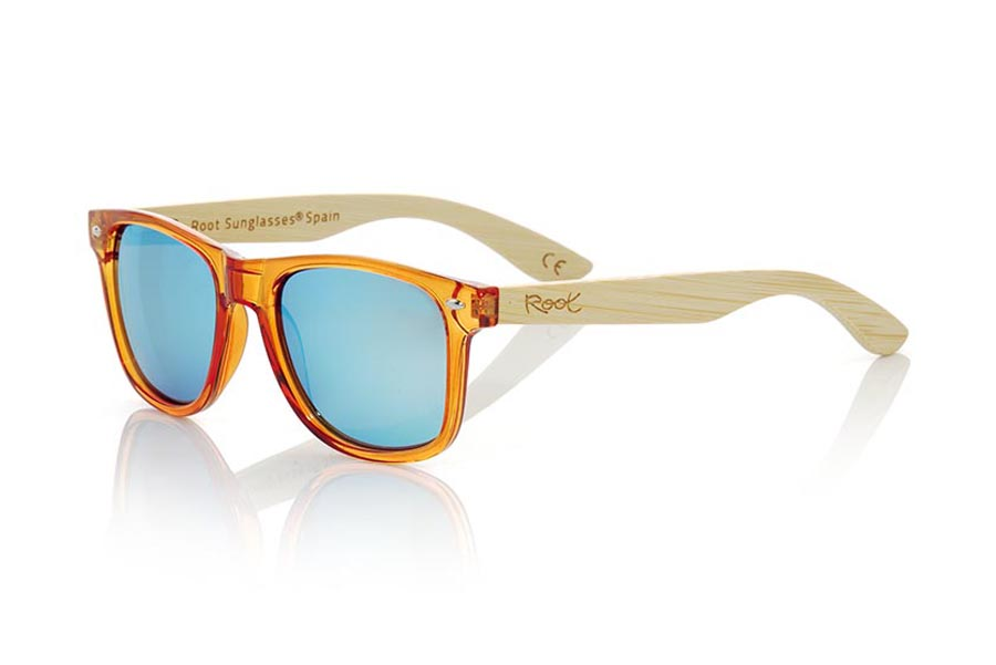 Gafas de Madera Natural CANDY ORANGE