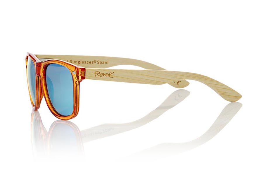 Root Wooden Sunglasses CANDY ORANGE