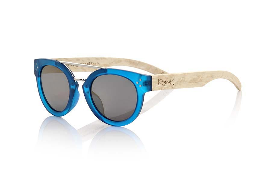 Root Wooden Sunglasses ISLAND BLUE