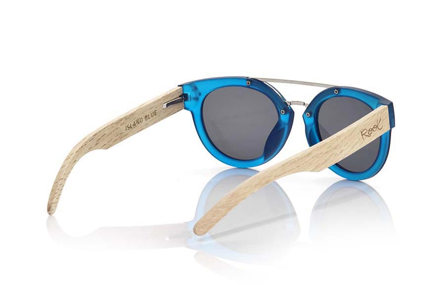 Wood eyewear of  ISLAND BLUE | Root Sunglasses ®