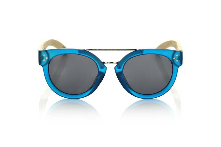 Gafas de Madera Natural de  ISLAND BLUE.   |  Root Sunglasses®