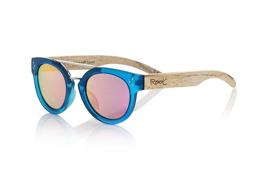 Wood eyewear of  ISLAND BLUE | Root Sunglasses®