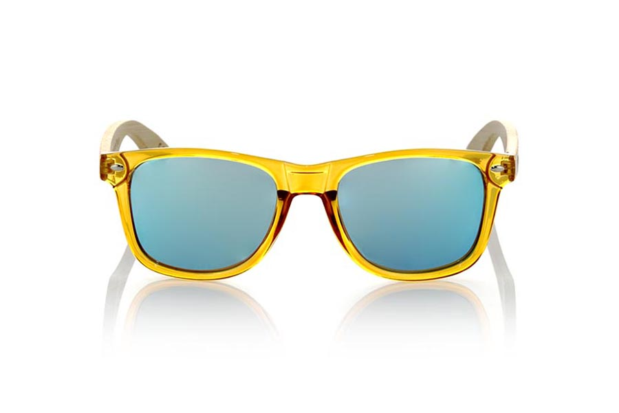 Gafas de Madera Natural de  CANDY YELLOW | Root Sunglasses®