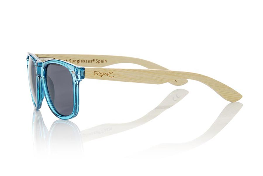 Gafas de Madera Natural de Bambú modelo CANDY BLUE | Root Sunglasses®