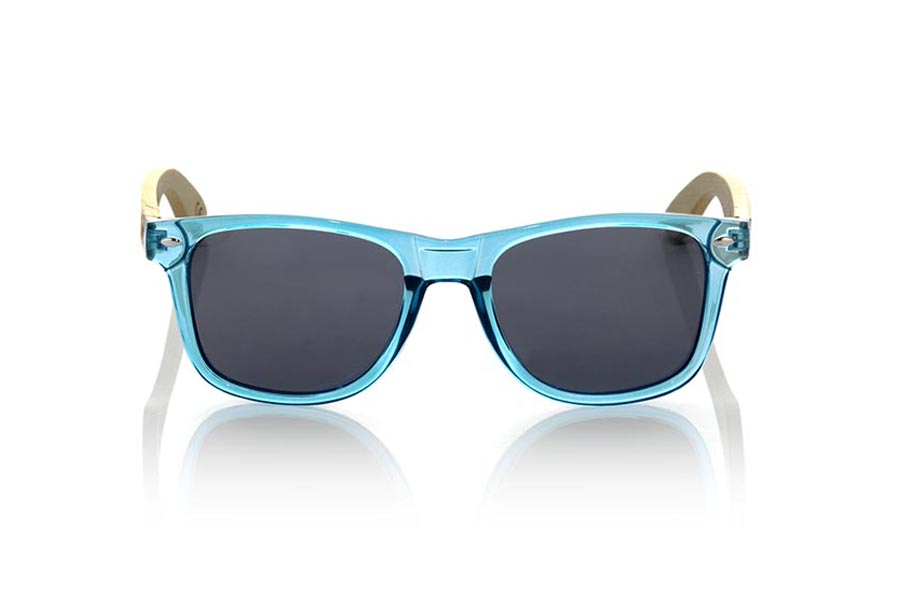 Wood eyewear of Bamboo modelo CANDY BLUE | Root Sunglasses®