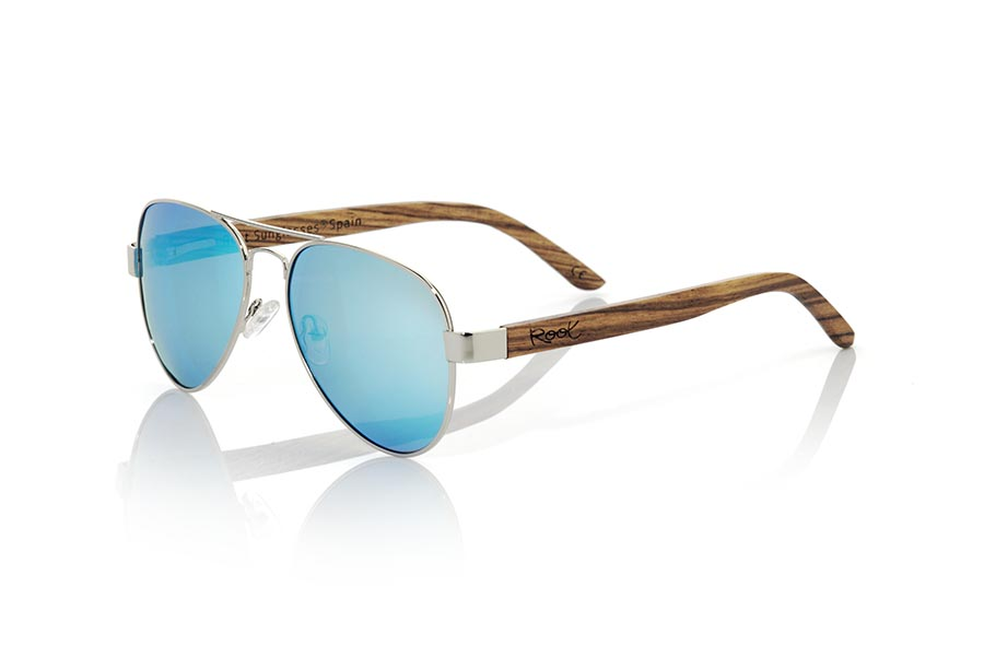 Wood eyewear of Zebra modelo BONIN | Root Sunglasses®