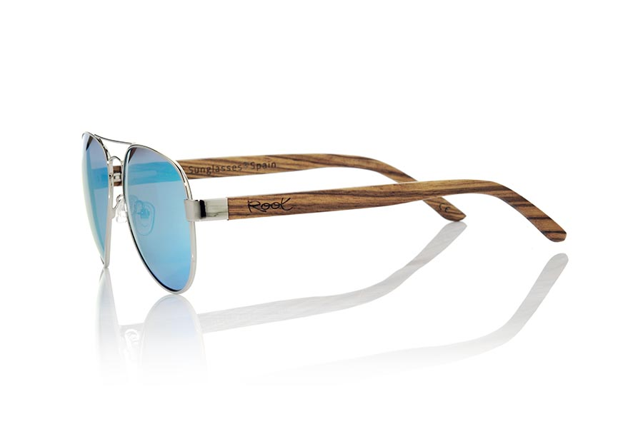 Wood eyewear of Zebra BONIN | Root Sunglasses®