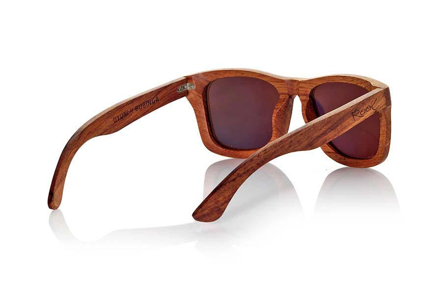 Wood eyewear of Bubinga modelo UYUNI | Root Sunglasses®