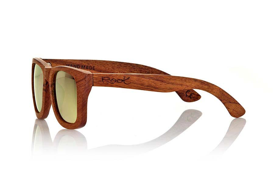 Wood eyewear of Bubinga UYUNI | Root Sunglasses ®
