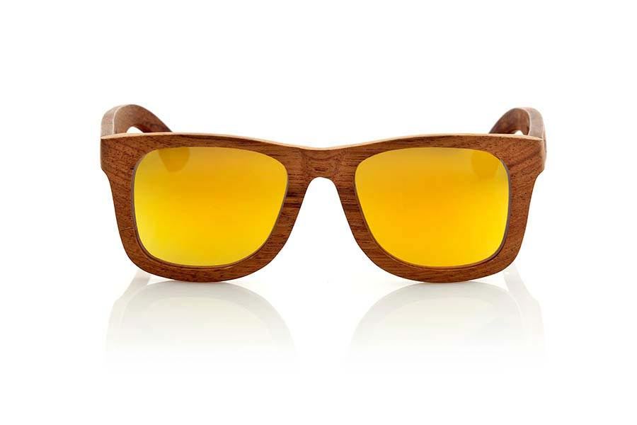 Wood eyewear of Bubinga UYUNI | Root Sunglasses®