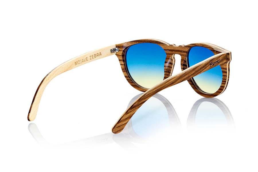 Gafas de Madera Natural de Zebrano MOJAVE   Root Sunglasses ®
