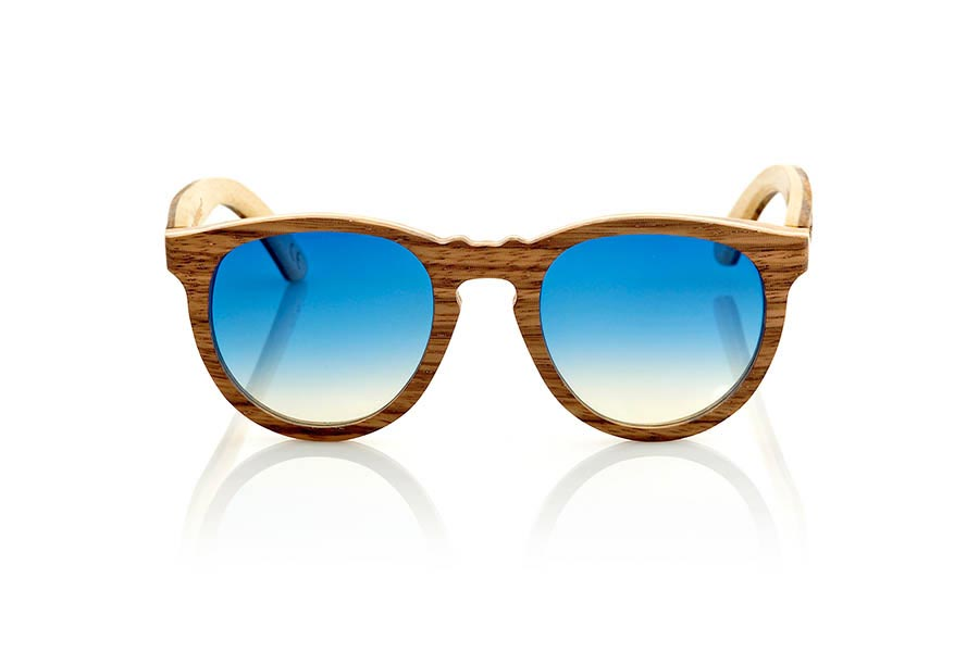 Wood eyewear of Zebra modelo MOJAVE | Root Sunglasses®