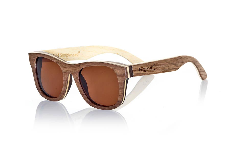 Wood eyewear of Black Walnut SIRIO | Root Sunglasses®