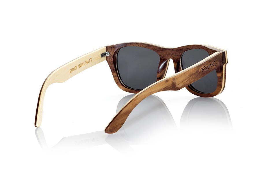 Gafas de Madera Natural de Nogal Negro SIRIO | Root Sunglasses®