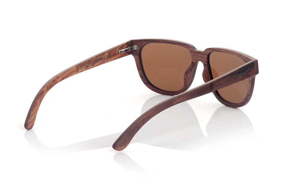 Gafas de Madera Natural de Palisandro LURE.   |  Root Sunglasses®