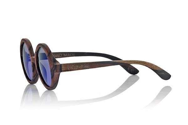 Gafas de Madera Natural de Ébano TANA | Root Sunglasses®