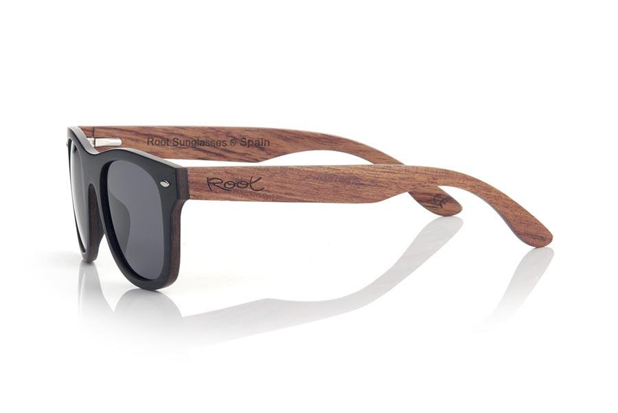 Gafas de Madera Natural de Ébano ITACA.   |  Root Sunglasses®