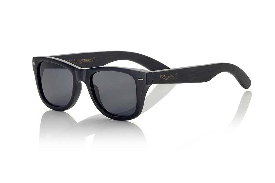 Wood eyewear of Bamboo BLACKCAT II | Root Sunglasses®
